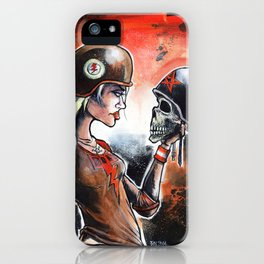 Alas Poor Yorette iPhone Case