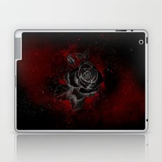 Black Rose Laptop & iPad Skin