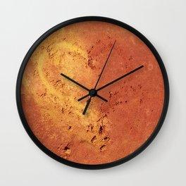 Les Ocres de Roussillon - France Wall Clock