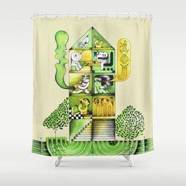 CASA. HOME. Shower Curtain