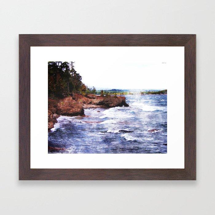 Upper Peninsula Landscape Framed Art Print