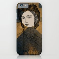 Coiffure for a young lady iPhone 6s Slim Case