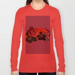 wings of fire Long Sleeve T-shirt