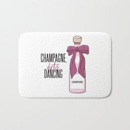 Champagne and dirty dancing Bath Mat