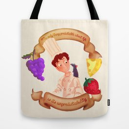 linguini Tote Bag