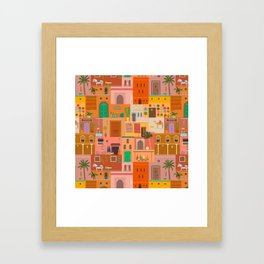 Marrakesh: The Red City Framed Art Print