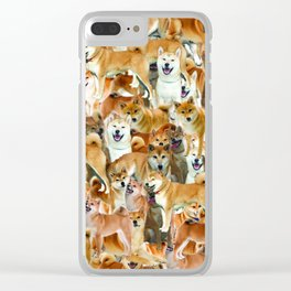 ALL THE DOGGOS Clear iPhone Case