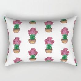 Curvy Cactus Rectangular Pillow