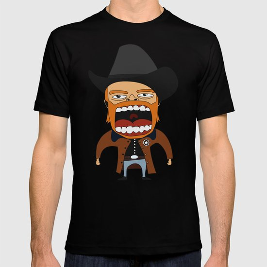 Screaming Walker Texas Ranger T-shirt