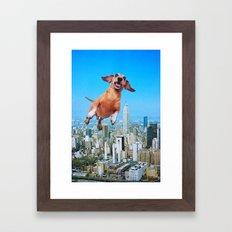 Woooo Framed Art Print