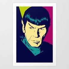 Spock Logic Art Print