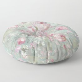 Whispering Petals Floor Pillow