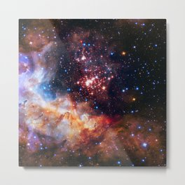 Westerlund Star Field Metal Print
