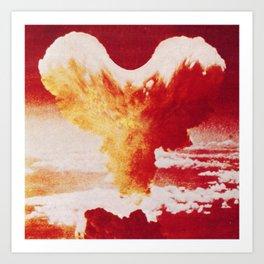 Love Bomb Art Print