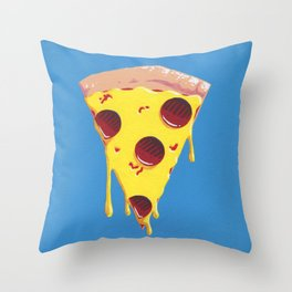 Give Me A Pizza Your Mind Throw Pillow