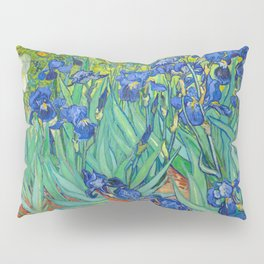 Vincent Van Gogh Irises Painting Pillow Sham