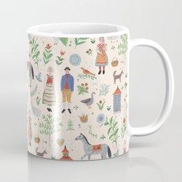 Swedish Folk Art Coffee Mug