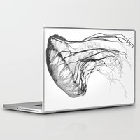 elegant Laptop & iPad Skins featuring Medusozoa by Edward Blake Edwards