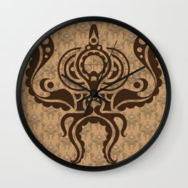 Victorian Octopus Wall Clock