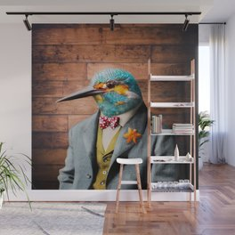 Portrait of Sir Kellen Kingfisher Wall Mural