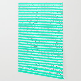 modern stylish blue line pattern Wallpaper