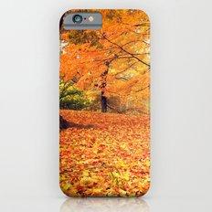 Autumn Leaves - Central Park - New York City Slim Case iPhone 6s