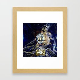 Only Clocks (Achilles) Framed Art Print