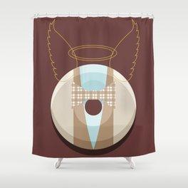 1DONUT - Aziraphale Shower Curtain