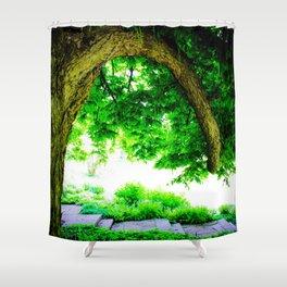 Park idyll Shower Curtain