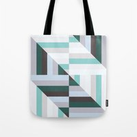 60s Tote Bags featuring Maze | 60s by Wood + Ink