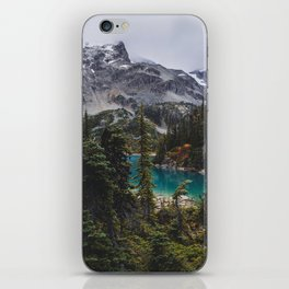 Joffre Lakes iPhone Skin