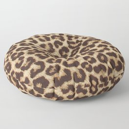 Leopard Print Floor Pillow