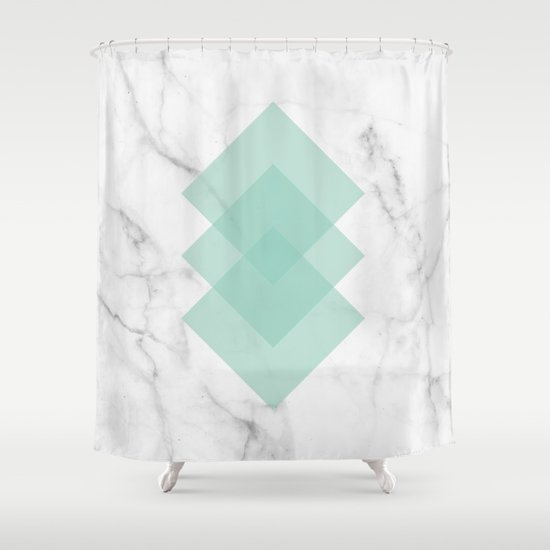 Marble Scandinavian Design Geometric Squares by 5mmpaper