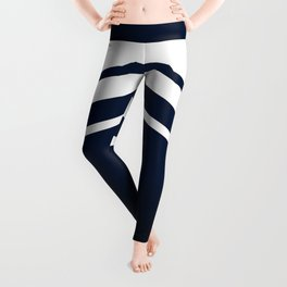 Wooden Navy Leggings