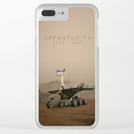 Opportunity / 2004 - 2019 Clear iPhone Case