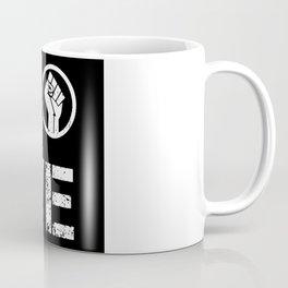 Black Lives Matter BLM Black History Love Gift Coffee Mug