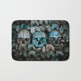 We Three Skulls Bath Mat