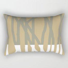 Forest of Gold Rectangular Pillow