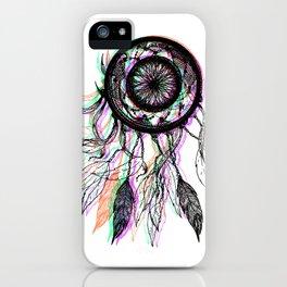 Modern Artistic Native American Dreamcatcher iPhone Case