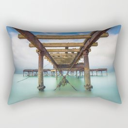 Fort Victoria Pier Rectangular Pillow