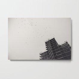 Ohlerich Speicher Fassade Metal Print