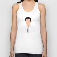 himym Tank Tops featuring Ted Mosby from HIMYM by Rosaura Grant