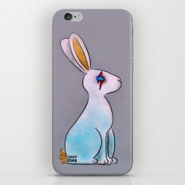 Bunny in Space iPhone Skin