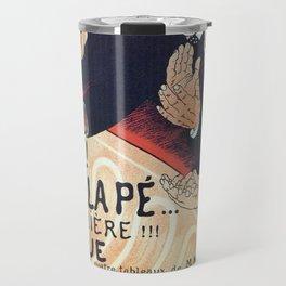 Paris 1895 Revue La Pepiniere Travel Mug