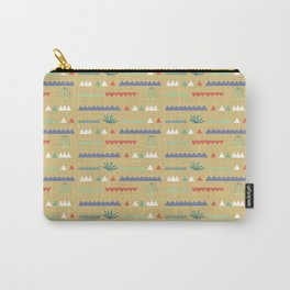 Geometrical Cacti Carry-All Pouch
