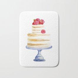 Berries cake Bath Mat