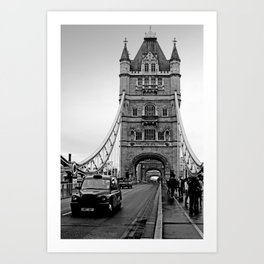 London ... Tower Bridge II Art Print