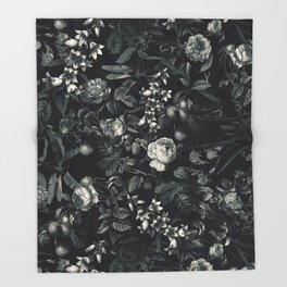 Black Forest III Throw Blanket