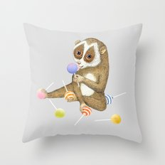 Loris Throw Pillow