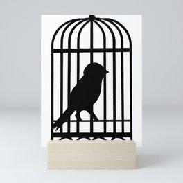 Black Bird Mini Art Print